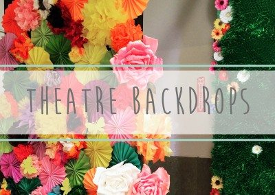 Theatre Backdrops Spring 2016