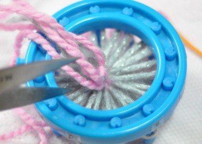 Cut excess thread