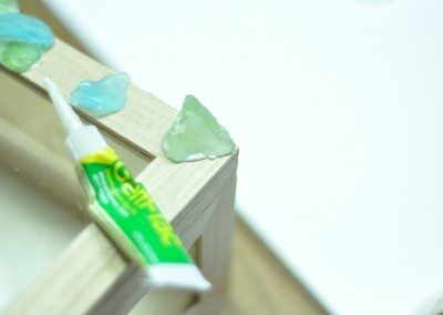 Sea glass & gem tac