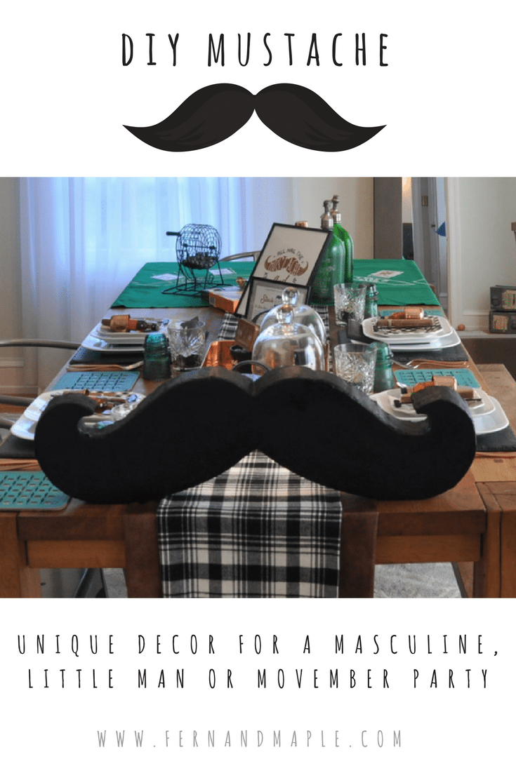 This Party Prop Would Also Work With A Little Man Themed 1st Birthday Spy Or Good Old Mustache Theme For The In Your Life