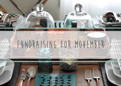 Fundraising for Movember