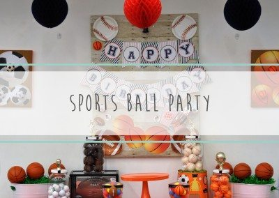 Sports Ball Party