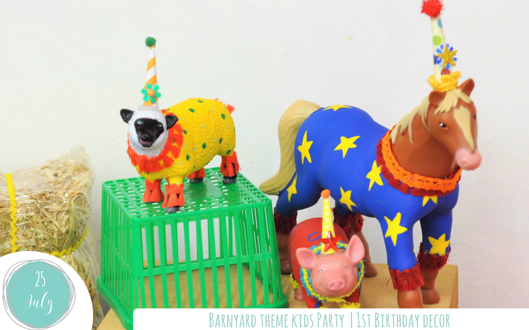 Barnyard Theme – 1st Birthday Party Decor