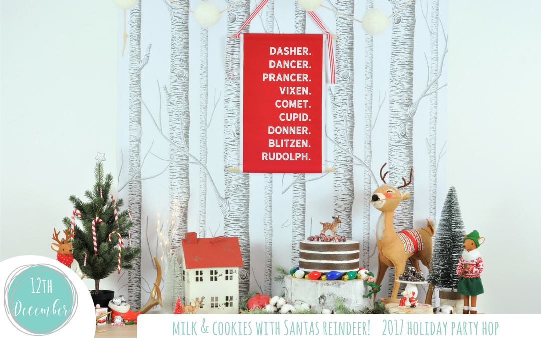 2017 Holiday Party Hop – Milk & Cookies Party